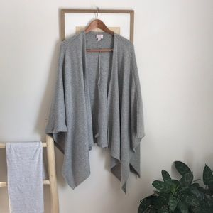 Isabel maternity shawl cardigan
